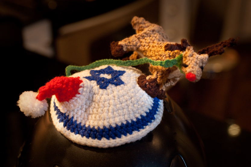 Crochet Yarmulke : crocheted yarmulke ? what i see .. do .. create ..